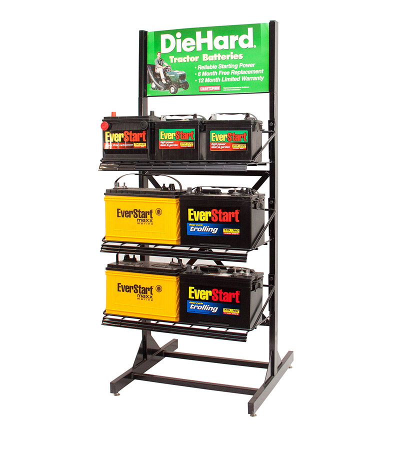 FantastiCAR Best Car Battery Display Stands